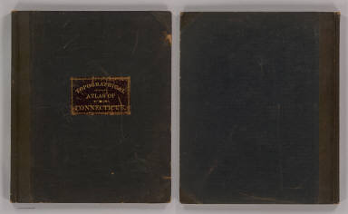Cover: Topo. atlas Connecticut. / Geological Survey (U.S.) / 1893