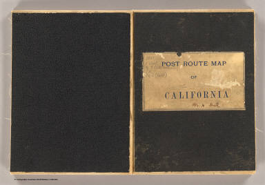 Covers: California, Nevada (NW) / United States. Post Office Dept. / 1901