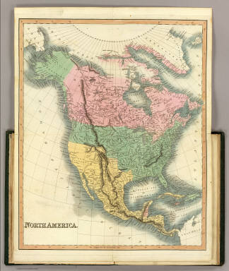 North America. / (Hinton, John Howard); (Simpkin & Marshall); (Wardle, Thomas) / 1832