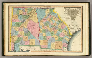 Alabama, Georgia. / (Hinton, John Howard); Hinton, Isaac Taylor ...