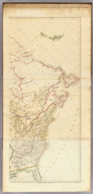 (A map exhibiting all the new discoveries in the interior parts of North America, inscribed by permission to the Honorable Governor and Company of Adventurers of England trading into Hudson Bay, in testimony of their liberal communications to their most obedient and very humble servant, A. Arrowsmith, Hydrographer to H.R.H. the Prince of Wales. Sheet 2.) London: Published Jan. 1, 1795 by A. Arrowsmith, No. 10 Soho Square -- additions to 1802. (1818)
