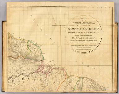 South America 1. / Arrowsmith, Aaron / 1817