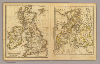 British Isles. Asia. H. Morse Sc. Published by Lincoln & Edmands, Boston. (1832)