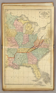 Southern, Western States. / Cornell, S. S. (Sarah S.) / 1864