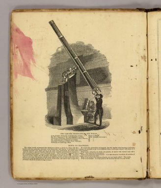 The largest telescopes in the World. Hints to teachers. (By Asa Smith. New York: Cady & Burgess, 60 John Street. 1850)