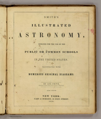Title Page: Smith's illustrated astronomy. / Smith, Asa / 1850