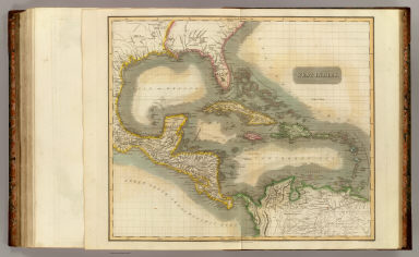 West Indies. Engraved by Kirkwood & Son, Edinr. Drawn & engraved for John Thomson & Co.'s New general atlas, 12 August 1814.