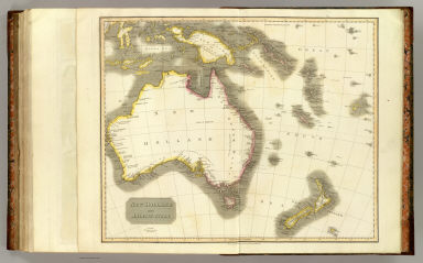 New Holland and Asiatic isles. Drawn and engraved for Thomson's New general atlas, 1814.