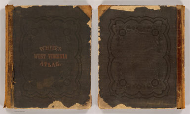 Cover: Atlas W. Virginia. / White, M. Wood; Gamble, William H.; Miller, M. A. (Matthew Amos) / 1873