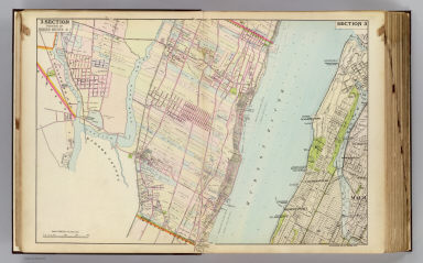 Portion of Bergen County, N.J. Copyrighted, 1891, by Watson & Co.