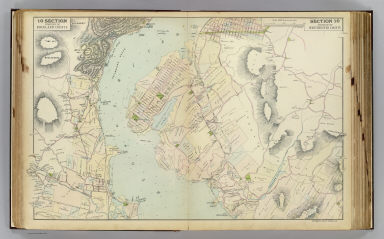 Portion of Rockland County. Portion of Westchester County. Copyrighted, 1891, by Watson & Co.
