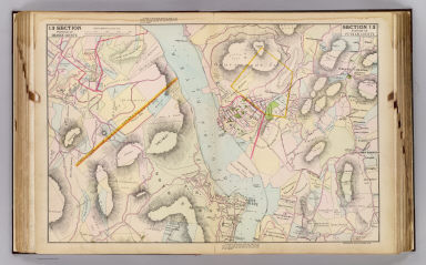 Portion of Orange County. Portion of Putnam County. Copyrighted, 1891, by Watson & Co.