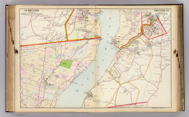 Portion of Orange & Ulster County. Portion of Dutchess County. Copyrighted, 1891, by Watson & Co.