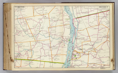 Portion of Albany County. Portion of Rensselaer County. Copyrighted, 1891, by Watson & Co.