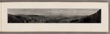 Panorama of the City from Twin Peaks. (By Daniel H. Burnham. Assisted by Edward H. Bennett. 1905)