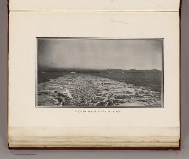 View of water-front from Bay. (By Daniel H. Burnham. Assisted by Edward H. Bennett. 1905)