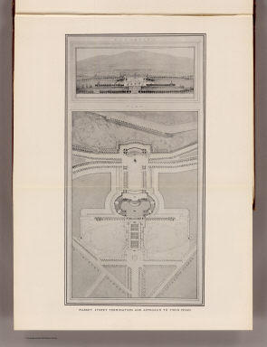Market Street termination and approach to Twin Peaks. (By Daniel H. Burnham. Assisted by Edward H. Bennett. 1905)