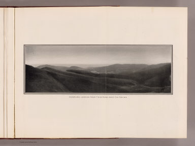 Panorama: looking from Twin Peaks west to the sea. (By Daniel H. Burnham. Assisted by Edward H. Bennett. 1905)