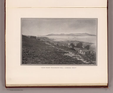 View from Telegraph Hill, looking west. (By Daniel H. Burnham. Assisted by Edward H. Bennett. 1905)