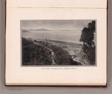 View from Telegraph Hill, looking north. (By Daniel H. Burnham. Assisted by Edward H. Bennett. 1905)