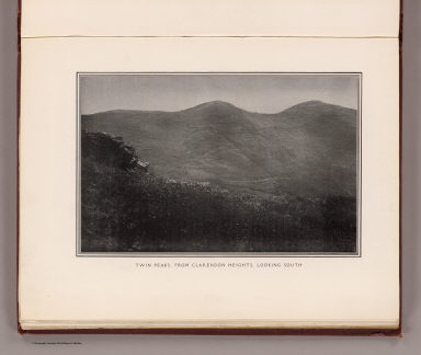 Twin Peaks, from Clarendon Heights, looking south. (By Daniel H. Burnham. Assisted by Edward H. Bennett. 1905)
