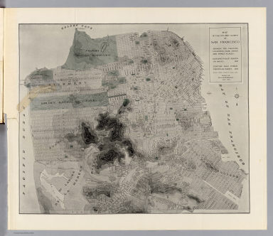 Map of the city and county of San Francisco showing the existing highways, park areas and public places. Report of D.H. Burnham, Sept. 1905.