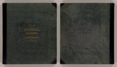Cover: Pittsburgh, Allegheny atlas. / G.M. Hopkins & Co. / 1872
