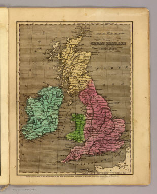 Great Britain, Ireland. / (Huntington, Nathaniel G. (Nathaniel Gilbert), 1785-1848); Huntington, Eleazer / 1836