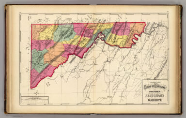 Topographical atlas of Maryland: counties of Alleghany and Garrett ...