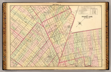 Sec. 5. Brooklyn map. / (Fulton, Henry; J.B. Beers & Co.) / 1874