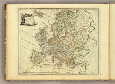 Europe. Engraved by Jefferys and Faden, Geographers to the King. London, publish'd according to Act of Parliament, 29th May, 1775, by Jefferys & Faden, Corner of St. Martin's Lane, Charing Cross.