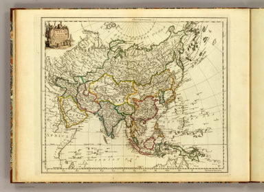 Asia. Engraved by Jefferys & Faden, Geographers to the King. London, published as the Act directs, 29th May, 1775, by Jefferys & Faden, St. Martin's Lane, Charing Cross.