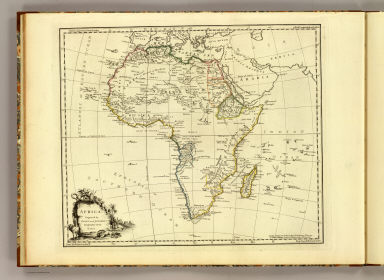 Africa. Engraved by Faden and Jefferys, Geographer to the King. London: publish'd according to Act of Parliament, 29th May, 1775 by Faden & Jefferys, Corner of St. Martin's Lane, Charing Cross.