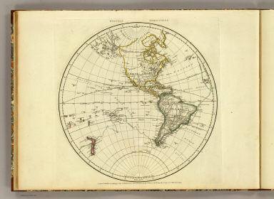Western Hemisphere. Engraved by Faden and Jefferys, Geographer to the King. London, publish'd according to Act of Parliament, 28th February 1775 by Jefferys and Faden, the Corner of St. Martin's Lane.