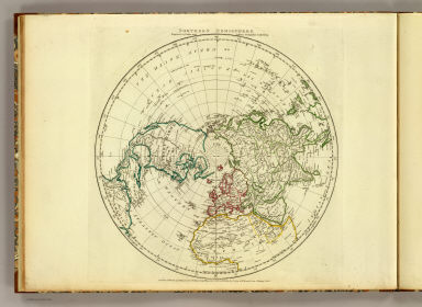Northern Hemisphere. Engraved by Faden and Jefferys, Geographer to the King. London: publish'd according to Act of Parliament, 29th May, 1775, by Jefferys & Faden, the Corner of St. Martin's Lane, Charing Cross.