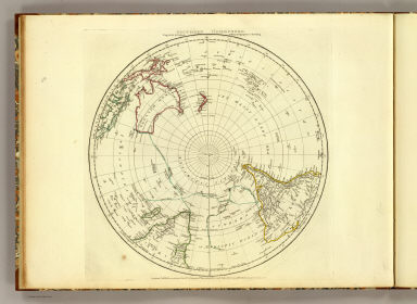 Southern Hemisphere. Engraved by Faden & Jefferys, Geographer to the King. London, publish'd according to Act of Parliament, 29th May 1775, by Jefferys & Faden, the Corner of St. Martin's Lane, Charing Cross.