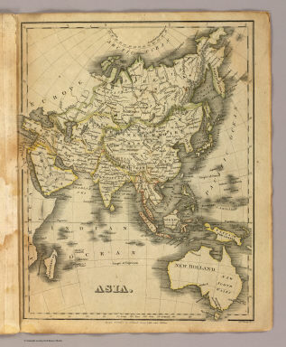 Asia. Boston, Published by Hilliard, Gray, Little and Wilkins. J.V.N. Throop Sc. (1829)