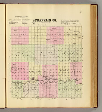 Franklin Co. / Everts & Kirk / 1885