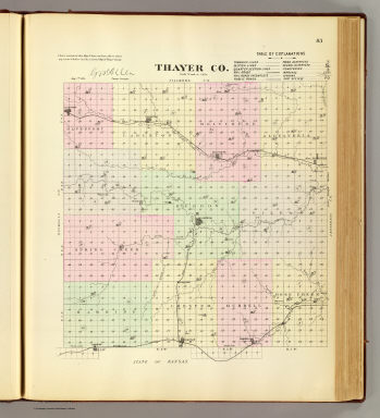 Thayer Co. / Everts & Kirk / 1885