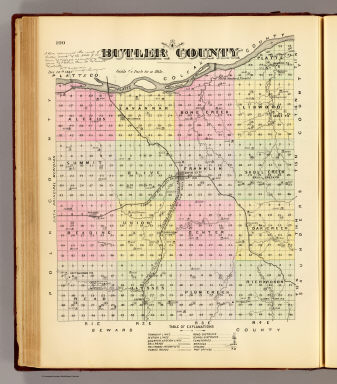 Butler County. / Everts & Kirk / 1885