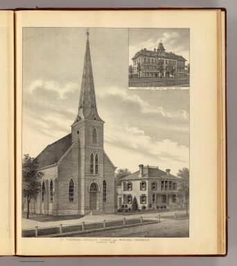 St. Theresa's Church. / Everts & Kirk / 1885