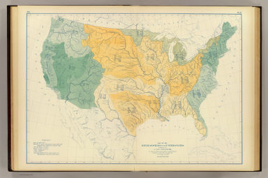 Systems US Steinwehr A Von Adolph 18221877 United - Map Of Us River Systems