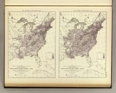 Us Population 1830 1840 United States Census Office Walker - Us-map-1840