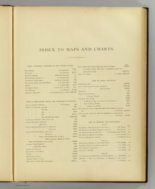 Index: Statistical atlas United States. / United States. Census Office; Walker, Francis Amasa, 1840-1897 / 1874
