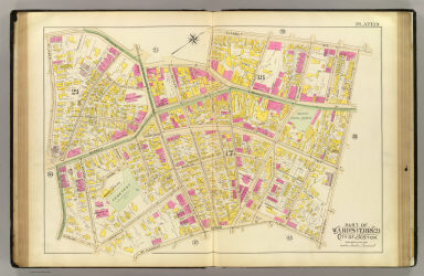 Part of wards 17, 18 & 21, city of Boston. (1895)