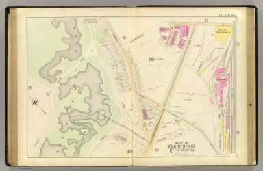 Part of wards 10 & 19, city of Boston. (1895)