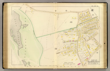 Part of wards 19 & 22, city of Boston. (1895)