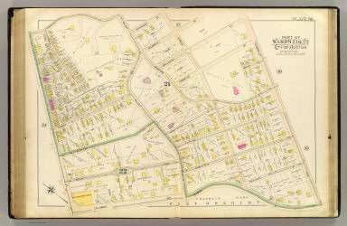 Part of wards 21 & 22, city of Boston. (1895)