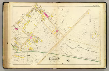 Part of wards 16 & 17, city of Boston. (1895)