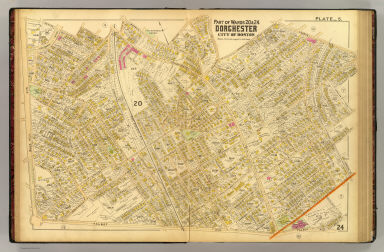 Part of wards 20 & 24, Dorchester, city of Boston. (1899)